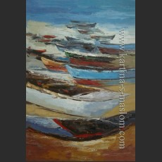 Лодки на берегу