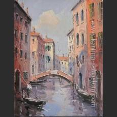 Венеция. Вид на канал