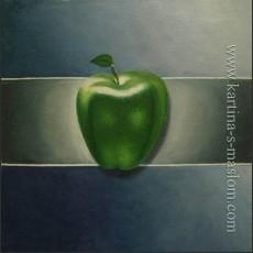 Молодое яблоко
