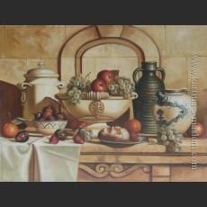 Итальянский натюрморт с зеленым виноградом — Спек, Лоран