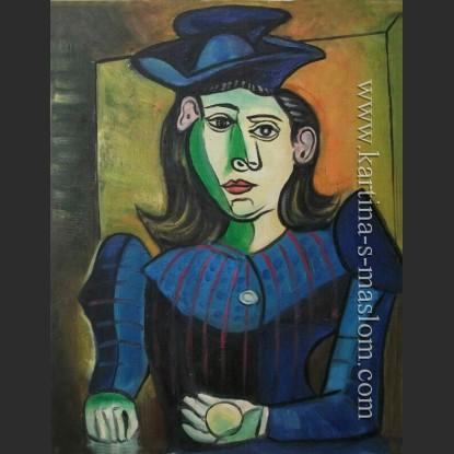 Женщина в шляпе (Дора Маар) — Пикассо, Пабло Диего