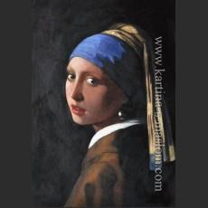 Девушка с жемчужной серёжкой — Вермеер Дельфтский, Ян