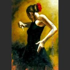 Танцовщица в черном — Перез, Фабиан