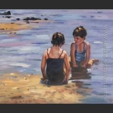 Играющие на мелководье — Гриббл, Пауль