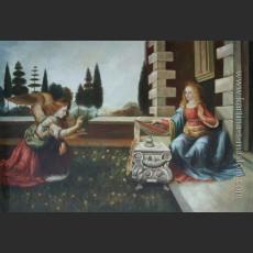 Благовещение — Да Винчи, Леонардо