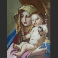 Мадонна со щеглом — Тьеполо, Джованни Баттиста