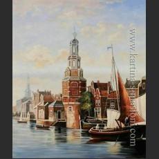 Башня Монтальбан, Амстердам — Доммерсен, Корнелис Кристиан