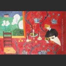 Красная комната — Матисс, Анри