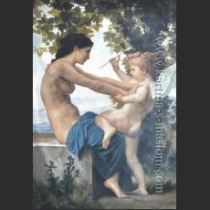 Девушка, защищающаяся от Купидона — Бугро, Вильям-Адольф